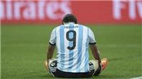 Higuain giã từ ĐTQG: Một siêu tiền đạo, nhưng lại là người khiến Messi mất World Cup