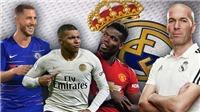 Real sẽ đá với đội hình nào nếu mua được cả Hazard, Mbappe và Pogba?