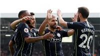 Fulham 0-2 Man City: Aguero lập công, Man City vươn lên dẫn đầu Premier League