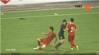 VIDEO: Ngôi sao Thái Lan nhận thẻ đỏ sau khi đấm Đình Trọng
