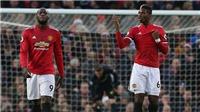 TIẾT LỘ: Pogba và Lukaku tranh cãi nảy lửa sau quả penalty, Solskjaer phải ra can