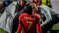 Allegri xác nhận Ronaldo khó bình phục kịp cho trận đấu với Ajax