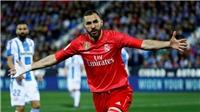 VIDEO Leganes 1-1 Real Madrid: Cứu tinh Benzema