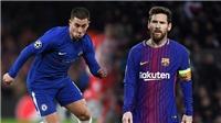 CẬP NHẬT tối 25/4: Pogba không muốn ở lại MU. Hazard không thể đạt đến tầm Messi