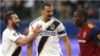 Ibrahimovic gây sốc với ăn mừng khiêu khích thẳng mặt đối thủ ở giải MLS