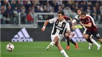 Juventus 2-1 AC Milan (KT): Dybala và Kean lập công, 'Lão bà' lội ngược dòng đánh bại Milan