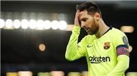 Messi làm gì trong phòng thay đồ sau khi bị Liverpool loại khỏi Champions League?