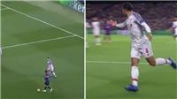 VIDEO: Van Dijk bất lực, kêu gào đồng đội hỗ trợ ngăn chặn Messi