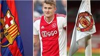 CẬP NHẬT tối 9/5: De Ligt sẽ gia nhập MU hoặc Barca. Real dùng biện pháp mạnh, quyết bán Bale