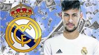 Real Madrid: Đễ sở hữu Neymar, Real cần phải trả lương 1,2 triệu bảng/tuần