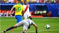 VIDEO: Firmino tái hiện kiểu ghi bàn 'lườm rau gắp thịt' khi Brazil đại thắng Peru