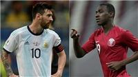 Qatar 0-2 Argentina: Aguero ghi bàn, Messi im lặng, Argentina vào tứ kết Copa America 2019