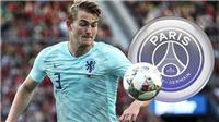 CHUYỂN NHƯỢNG Barca 22/6: Mua 5 cầu thủ theo ý Messi. Mất De Ligt vào tay PSG