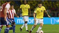 Colombia vs Paraguay (2h00, 24/6): Trực tiếp bóng đá. Xem trực tiếp Copa America 2019