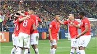 VIDEO Colombia 0-0 Chile (pen 4-5): Bị VAR từ chối 2 bàn, Lo Roja vẫn vào bán kết Copa America 2019