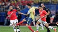 Colombia 0-0Chile (penalty 4-5): Thắng luân lưu, Chile tiếp tục hành trình bảo vệ ngôi vương