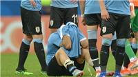 Suarez khóc nức nở khi Uruguay bị loại khỏi Copa America 2019
