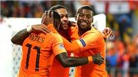 Hà Lan 3-1 Anh: De Ligt ghi bàn, Depay tỏa sáng đưa Hà Lan vào chung kết Nations League