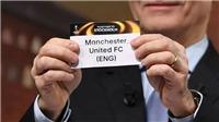 Kết quả bốc thăm Cúp C2 châu Âu: Đối thủ của MU, Arsenal tại vòng bảng đã lộ diện