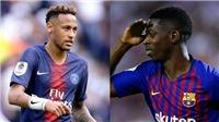NÓNG: Dembele đồng ý tới PSG, Barca sắp hoàn tất vụ Neymar