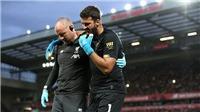 Liverpool: Thủ thành Alisson chấn thương bắp chân, lỡ Siêu cúp châu Âu với Chelsea