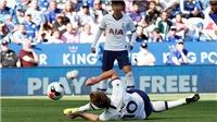 Không thể nhịn được cười với pha làm bàn Harry Kane trước Leicester