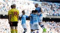 Man City 8-0 Watford: Bernardo Silva lập hat-trick, Man City có chiến thắng siêu đậm