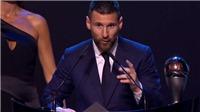 Vượt Van Dijk và Ronaldo, Messi lần đầu giành The Best của FIFA