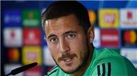 Hazard lảng tránh câu hỏi về cân nặng, tuyên bố sẽ ghi bàn cho Real ở Champions League