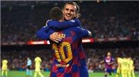 Kết quả bóng đá Getafe 0-2 Barcelona: Suarez ghi bàn, Barca thắng trong thế chỉ còn 10 người
