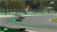 Kinh hoàng với cảnh tay đua F3 gặp tai nạn, xe lộn nhào 3 vòng trên không