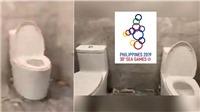 VIDEO: Phì cười với 'nhà vệ sinh chung' ở SEA Games 30