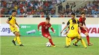 Bóng đá SEA Games 30: U22 Brunei, đối thủ đầu tiên của U22 Việt Nam, vẫn quá yếu