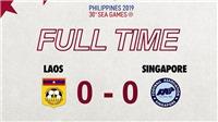 U22 Lào 0-0 U22 Singapore: Lào chơi quá kiên cường trước đối thủ trên cơ, U22 Việt Nam phải coi chừng