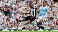 Kết quả bóng đá Newcastle 2-2 Man City: The Citizens đánh rơi chiến thắng