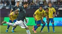 Brazil 0-1 Argentina: Messi tỏa sáng trong ngày trở lại