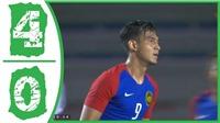U22 Malaysia 4–0 U22 Timor Leste: Malaysia nhen nhóm hy vọng vào bán kết SEA Games 30