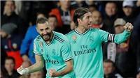 Valencia 1-1 Real Madrid: Benzema lên tiếng, Real vẫn chưa thể soán ngôi Barca