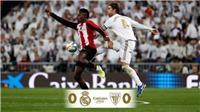 Real Madrid 0-0 Athletic Bilbao: Real bị Barca bỏ lại trong cuộc đua vô địch La Liga