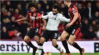 Trực tiếp bóng đá: Bournemouth vs Liverpool (22h00 hôm nay). Trực tiếp K+, K+PM, K+NS
