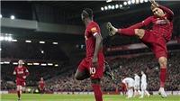 Fan Liverpool phát cuồng vì màn ăn mừng kungfu đôi của Mane và Firmino