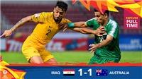 U23 Australia 1-1 U23 Iraq: 'Socceroos' bị cầm hòa đáng tiếc