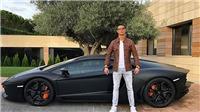 'Tròn mắt' trước bộ sưu tập xe siêu khủng của Ronaldo