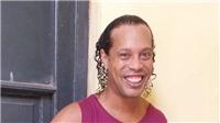 Xuất hiện hình ảnh Ronaldinho tiều tụy trong nhà tù Paraguay