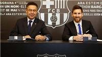 Messi đang bước vào cuộc chiến nảy lửa với Barca