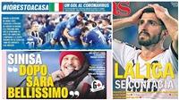 Truyền thông châu Âu phản ứng thế nào về tác động của Covid-19 lên bóng đá?