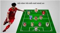 Đội hình 11 cầu thủ Nghệ An đủ sức vô địch V League