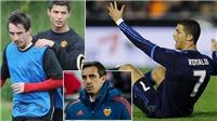 BÓNG ĐÁ HÔM NAY 28/3: Neville dùng tiểu xảo cản Ronaldo. Ighalo được khuyên nên ở lại MU