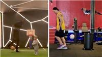 Pogba và Ibrahimovic 'trao đổi chiêu thức' trực tuyến giữa mùa dịch