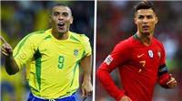 Christian Vieri: 'Ronaldo Brazil xuất sắc hơn Cristiano Ronaldo'